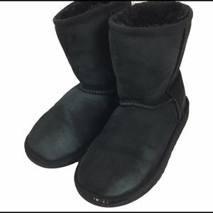 UGGS Girls Black Boots size 1